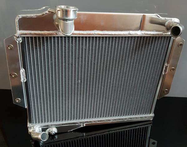 Custom Made Rads Ltd - MGB Rear Fill Aluminium Radiator