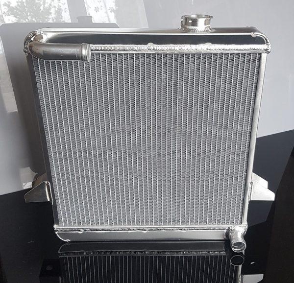 upgraded triumph radiator